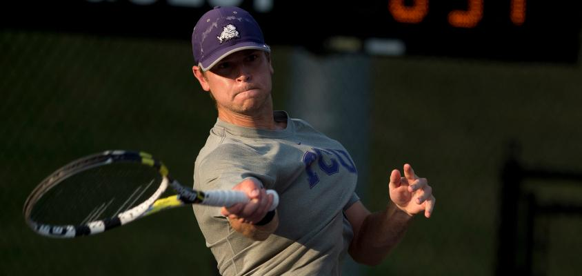 Men's tennis team begins journey back to Final Four