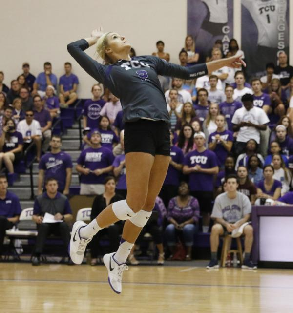 Volleyball takes on Oklahoma Wednesday