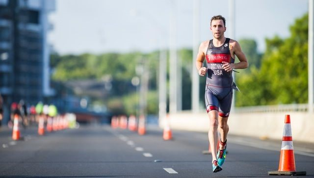 Senior Adam O'Connor had a more active Labor Day than many of his classmates, finishing first in a 600-person triathlon in Austin.