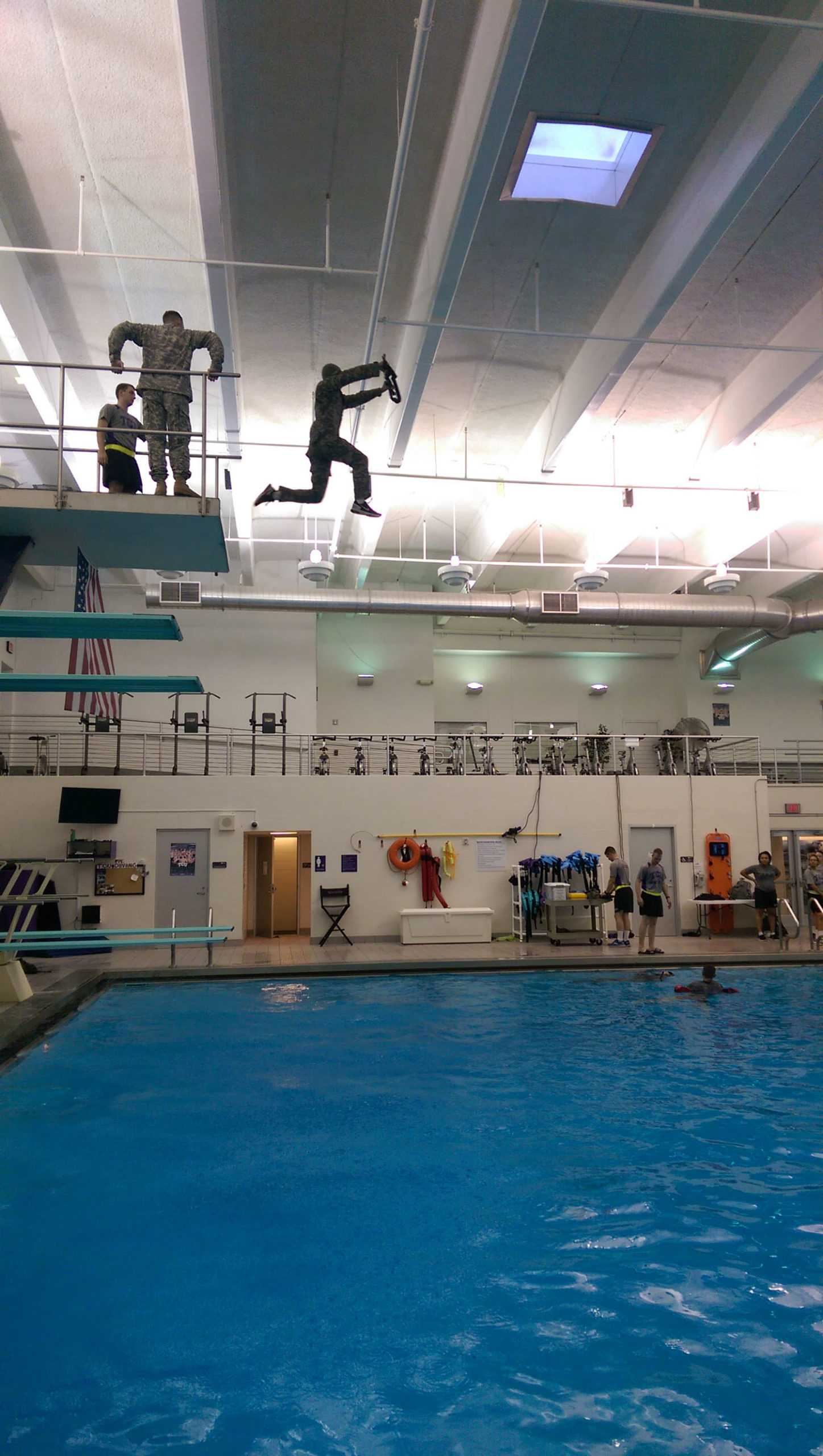 Unexpected Entry at ROTC CWST at Rec Center September 4, 2015