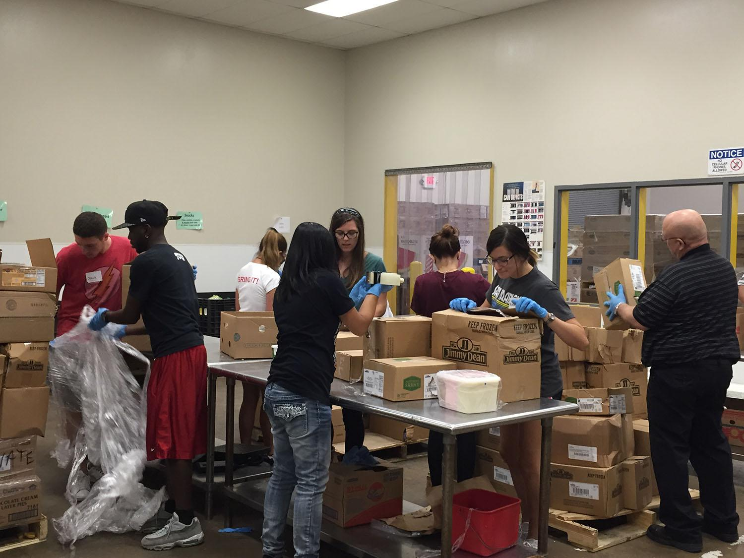 Students organize Hunger Action Day