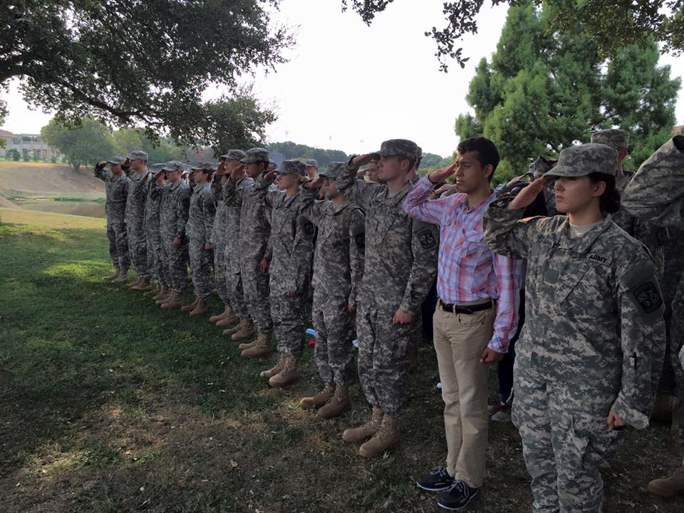tcu welcomes new class of rotc tcu 360