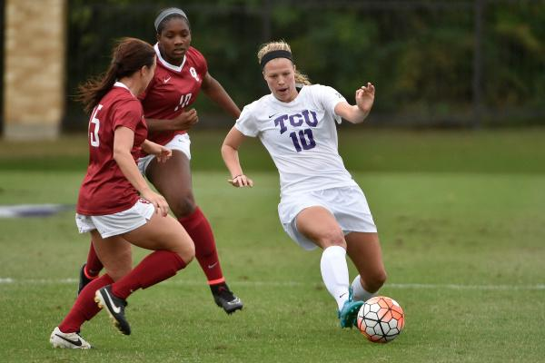 TCU finished in a scoreless tie against Oklahoma on Sunday, Oct. 25.