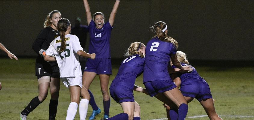 Frogs rally against Baylor, but game ends in a draw