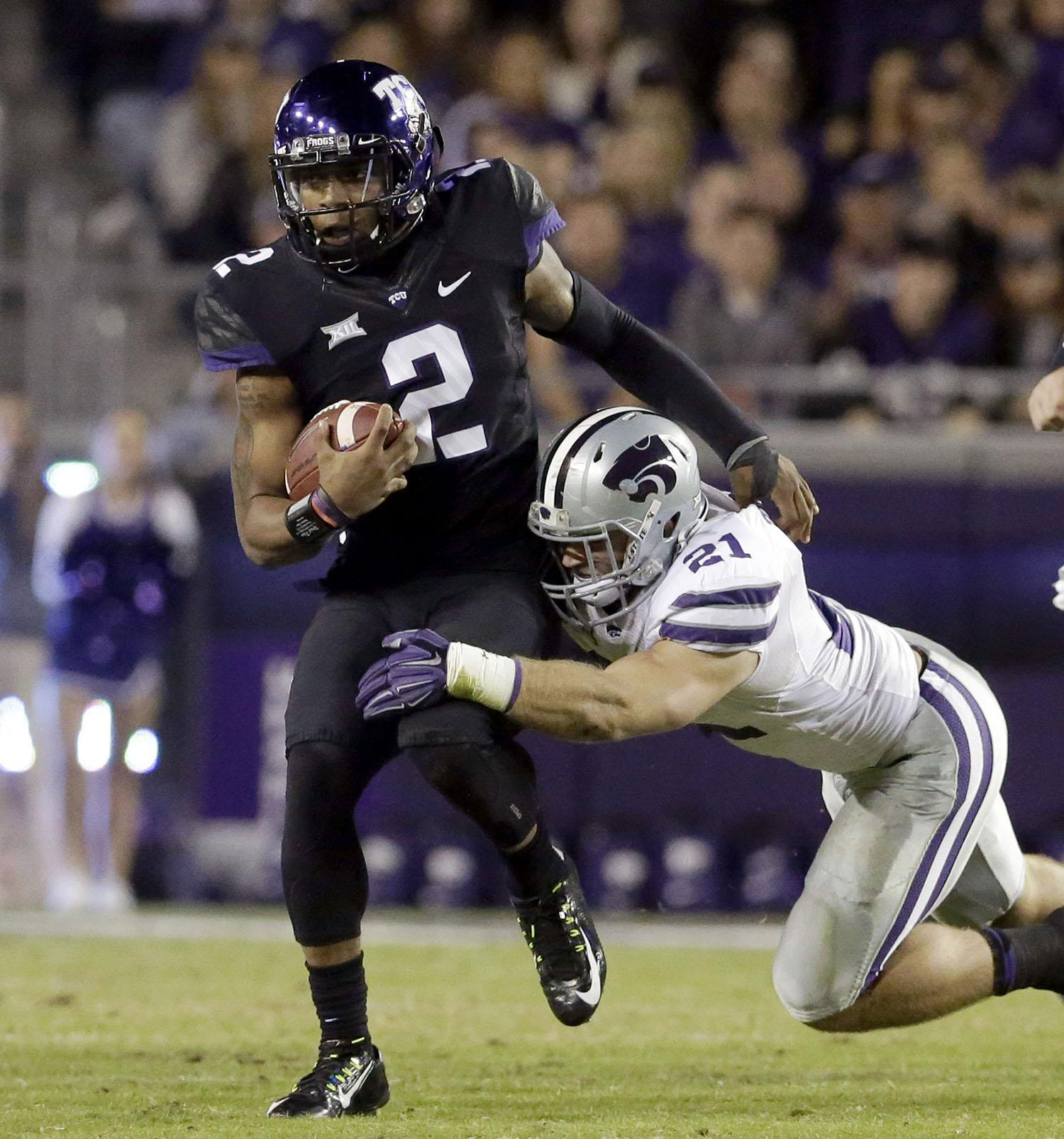 Frogs look to continue winning streak at Kansas State