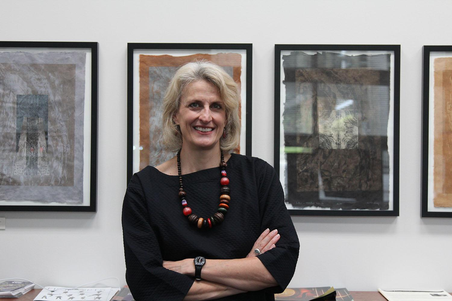 One of the newest deans on campus - Dean Anne Helmreich of the College of Fine Arts