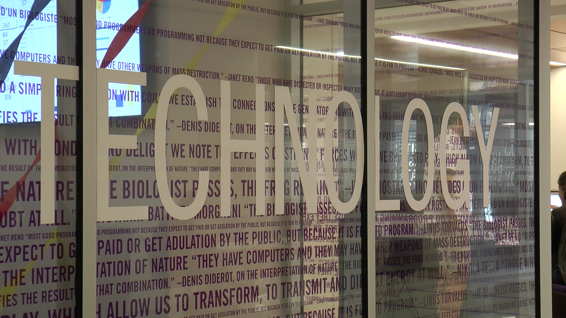 Library addition boasts new technology for students