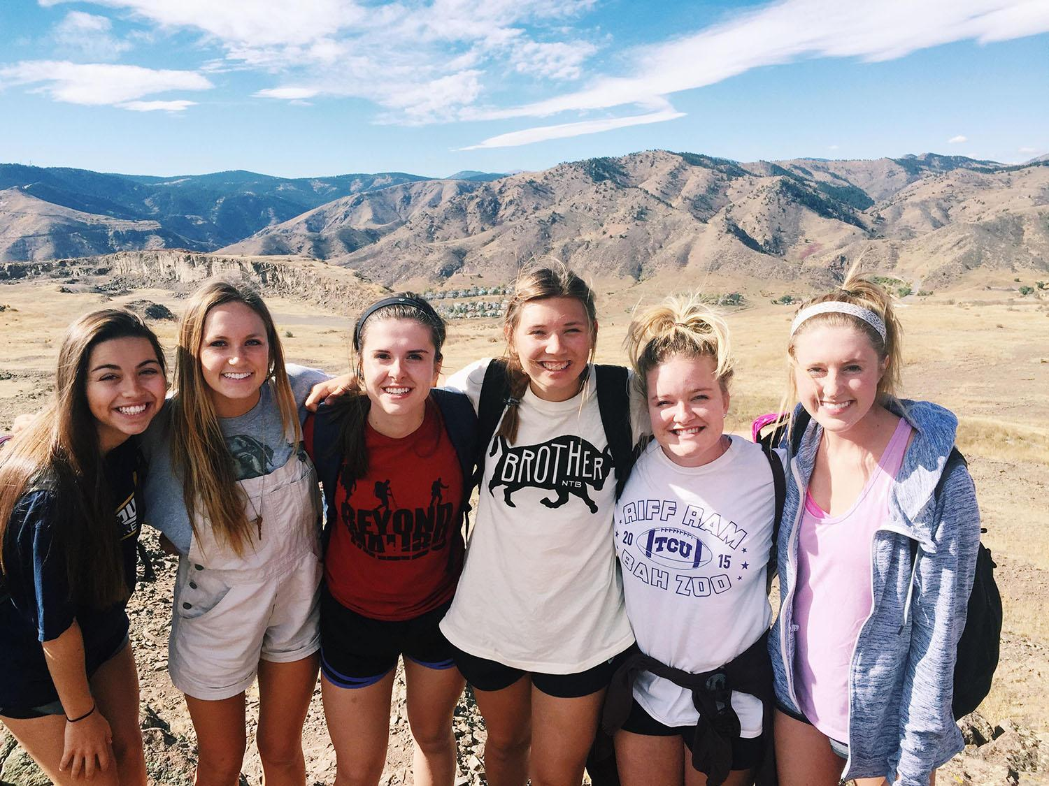 TCU students on fall break mission trip in Denver, Colorado. Oct. 9-132015