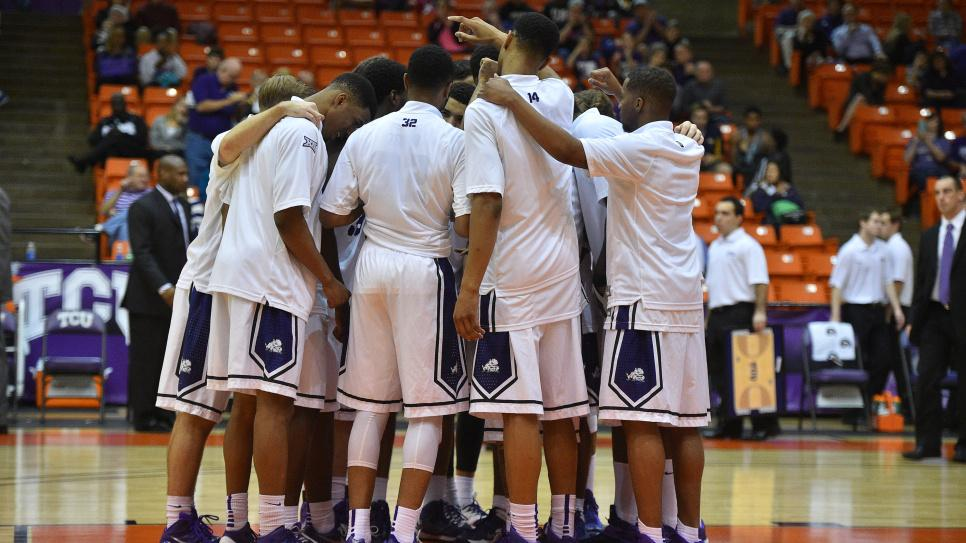 TCU Basketball vs McNeese  on December 9, 2014.