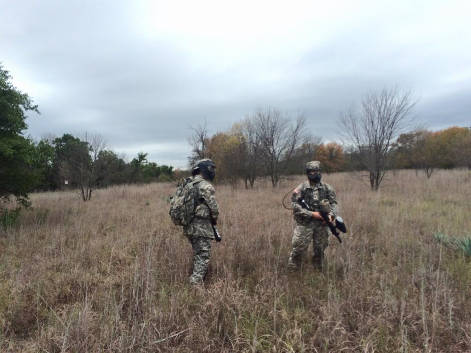 TCU Army ROTC cadets conduct a patrol during the annual Leadership Training Exercise.