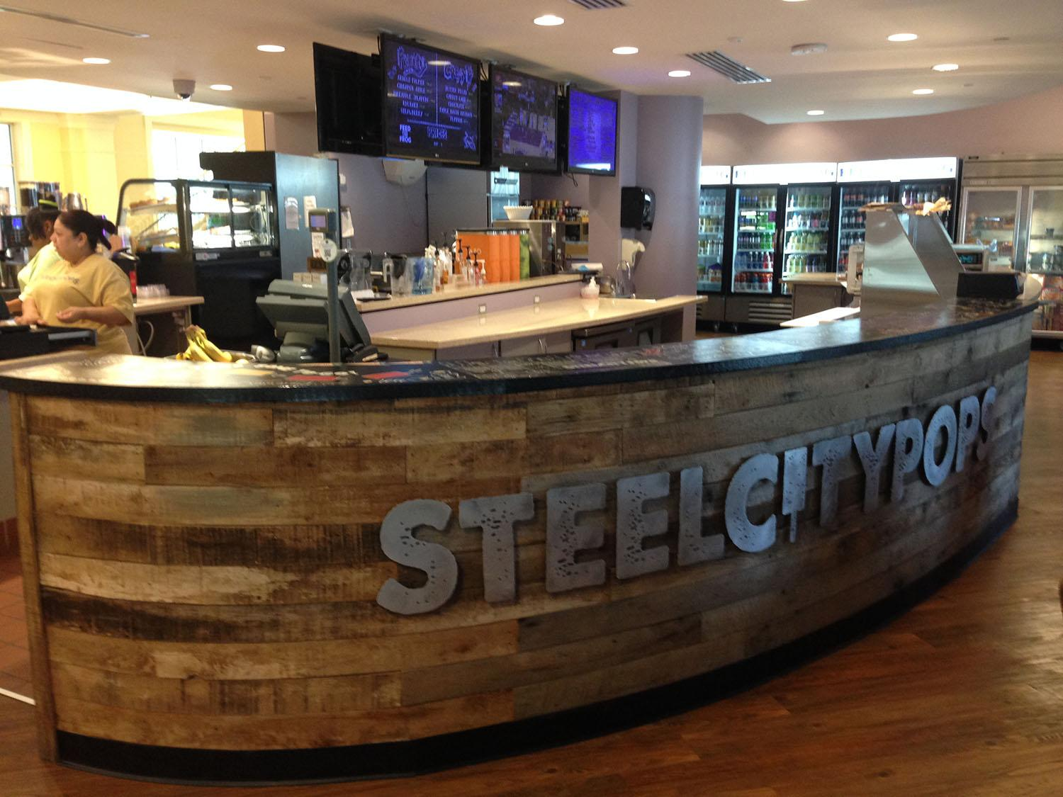Steel City Pops was added to Union Grounds in August 2015.