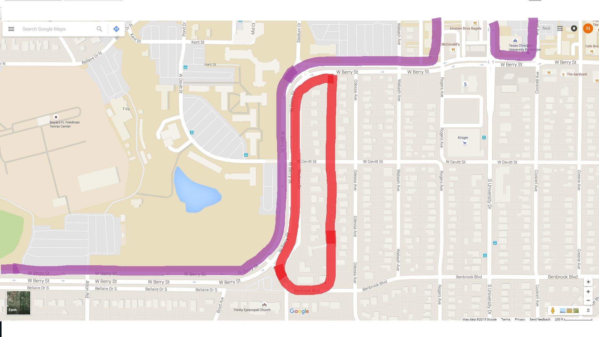 Homeowners Upset With Students Parking In Neighborhood Tcu 360