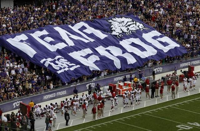 TCU students staying for the break to cheer on the Frogs