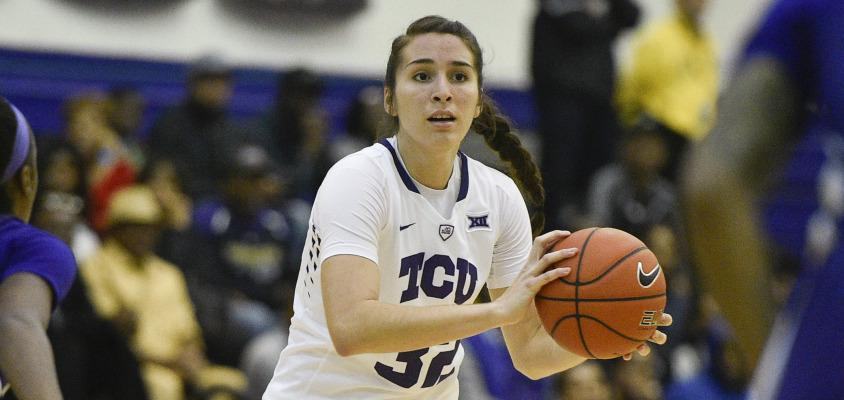 TCU's record-setting offensive efficiency leads to 88-55 blowout of Stephen F. Austin