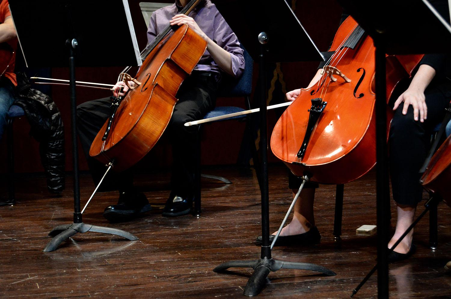 Video: cello ensemble closes out semester with winter concert