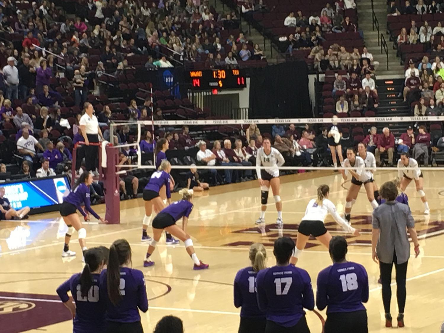 TCU falls just short of victory against No. 7 Hawaii in NCAA Tournament
