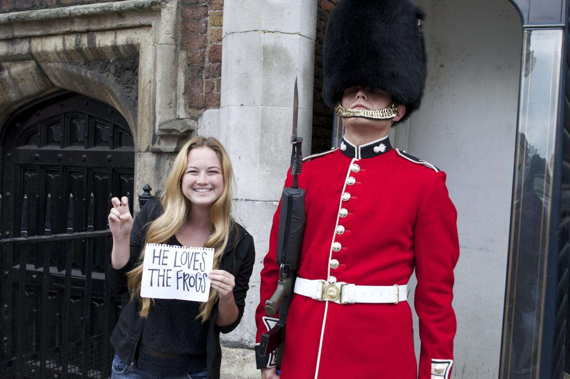 TCU sends students to London, England, along with many other places throughout the world.