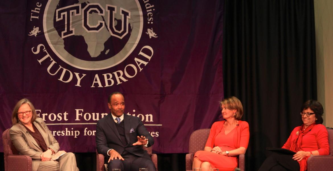 Three attorneys who prosecuted the first case of rape as a war crime spoke to TCU on Thursday.