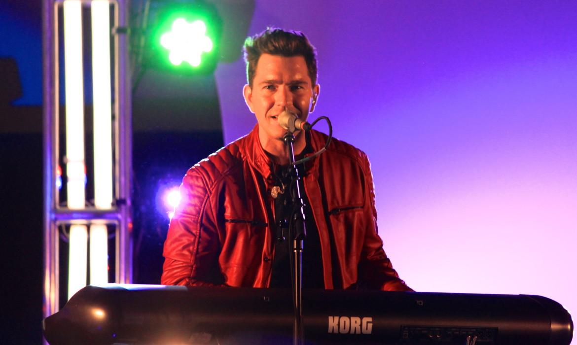 Andy Grammer performed live in the BLUU Ballroom on Friday.