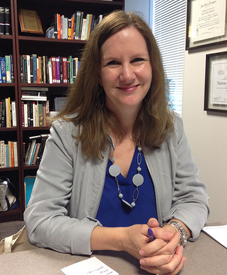 Dr. Theresa Gaul worked on a core approval committee when the TCU Core Curriculum was first introduced.