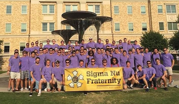 TCUs chapter of Sigma Nu became the fastest chapter to become chartered in SIgma Nu's history.