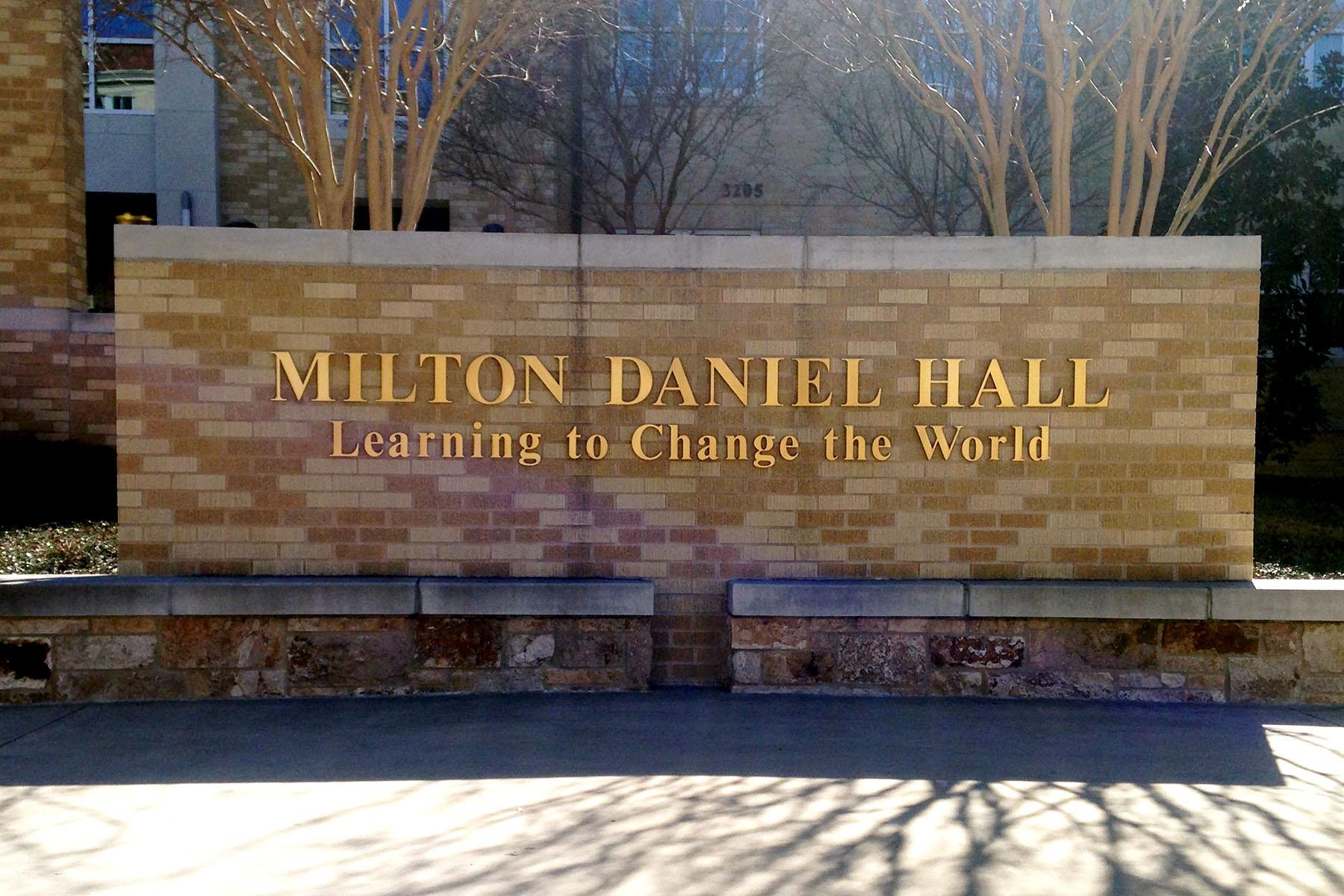 Students can hear from the third candidate for a new Honors College position on Thursday in Milton Daniel Hall.