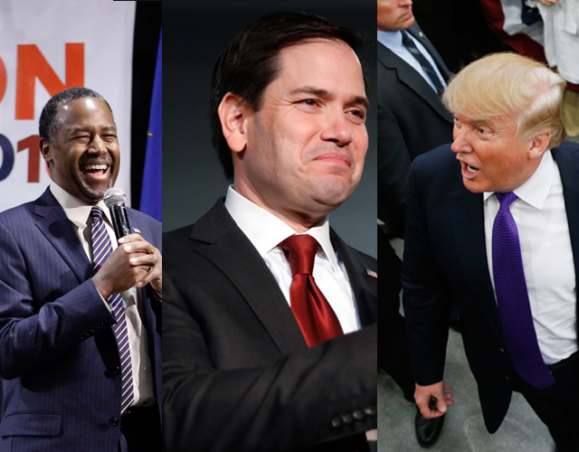 PolitiFrog: Trump, Rubio and Carson Will Cruise Through DFW Ahead of Super Tuesday