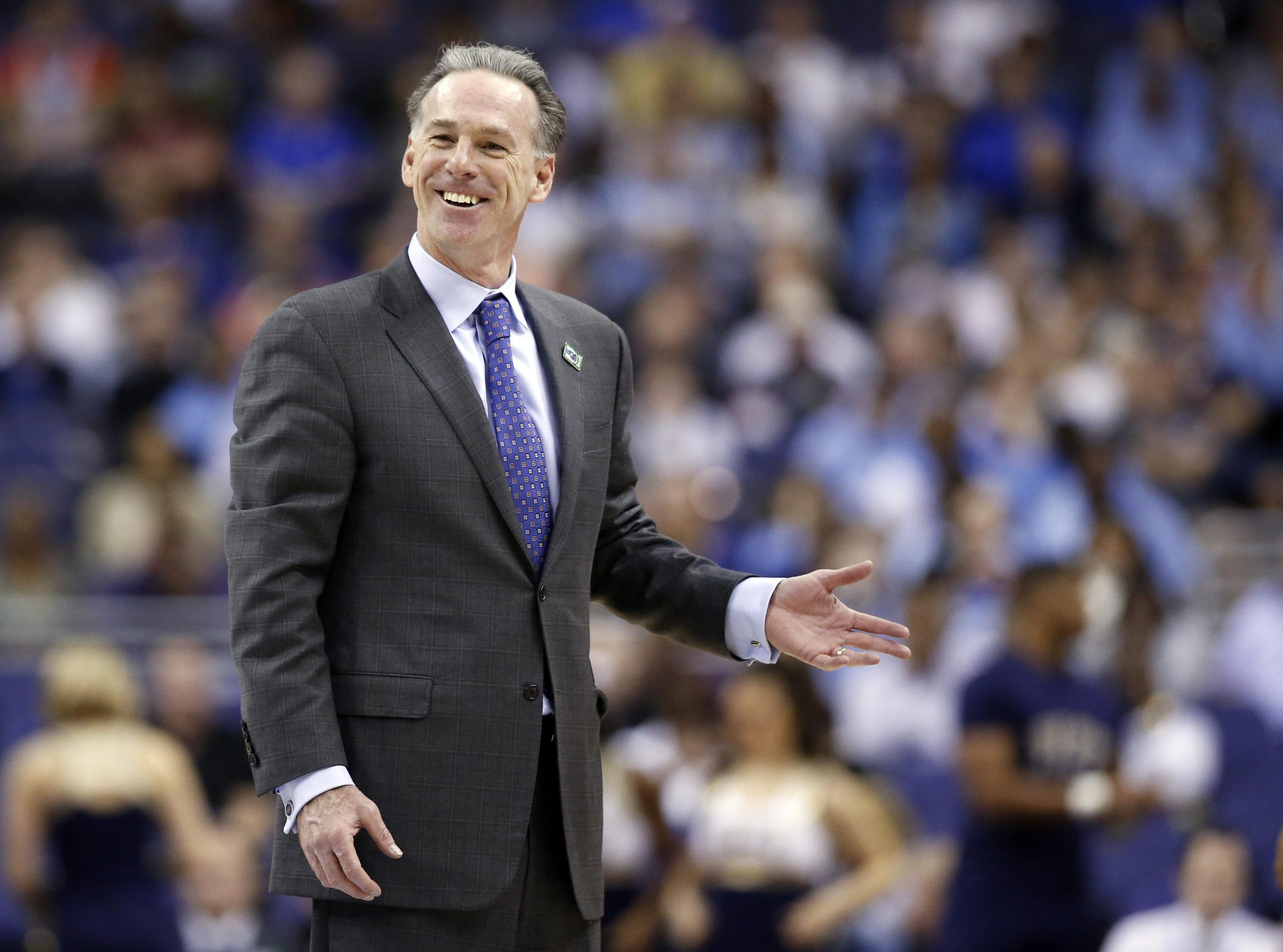 Pittsburgh head coach and former Horned Frog Jamie Dixon may be returning to Fort Worth soon. (AP Photo/Alex Brandon)