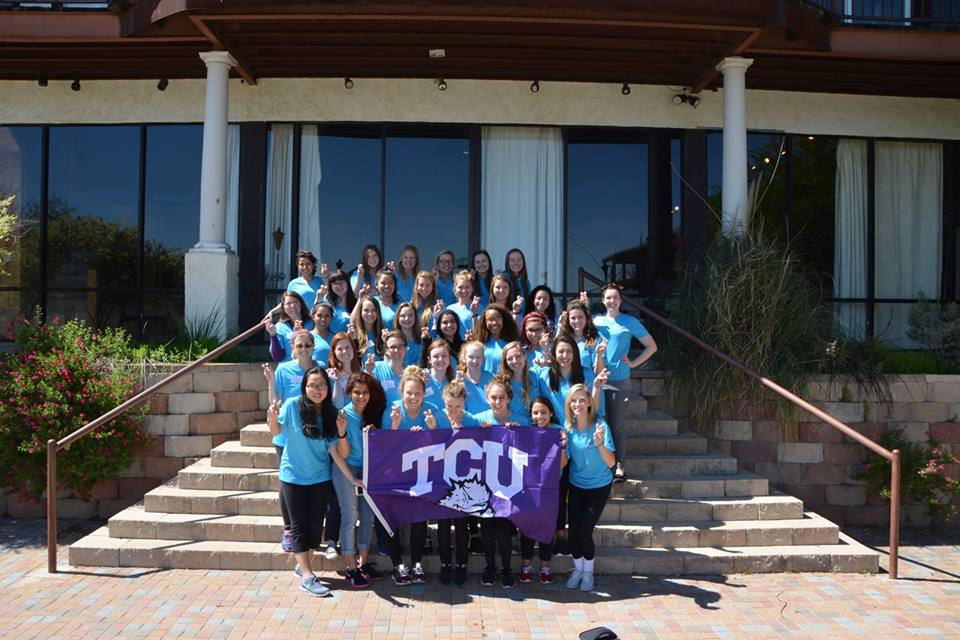 A group of 27 female students took part in a 24-hour leadership retreat for Lead NOW.