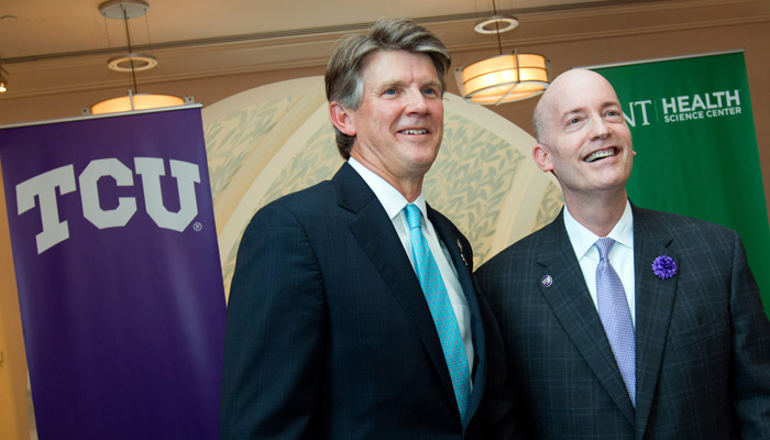 In July of 2015, TCU announced that it would be partnering with the University of North Texas Health Science Center to create a new medical school in Fort Worth.