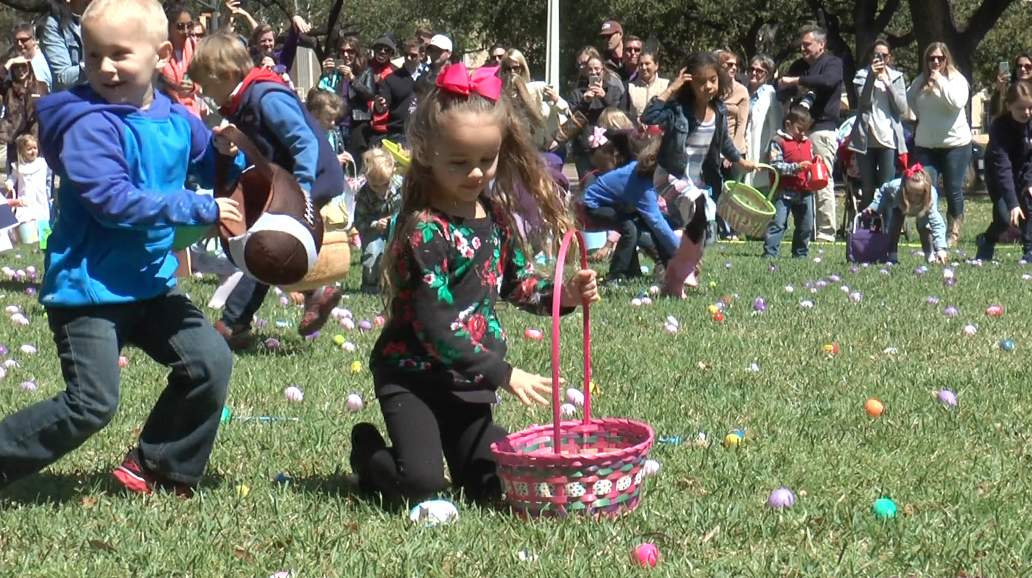 Easter Bunny comes early for TCU alumni and families