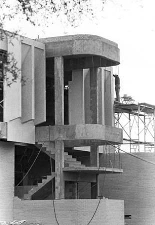 In 1966 Sid Richardson was still under construction.