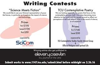 Science Fiction Writing Competition