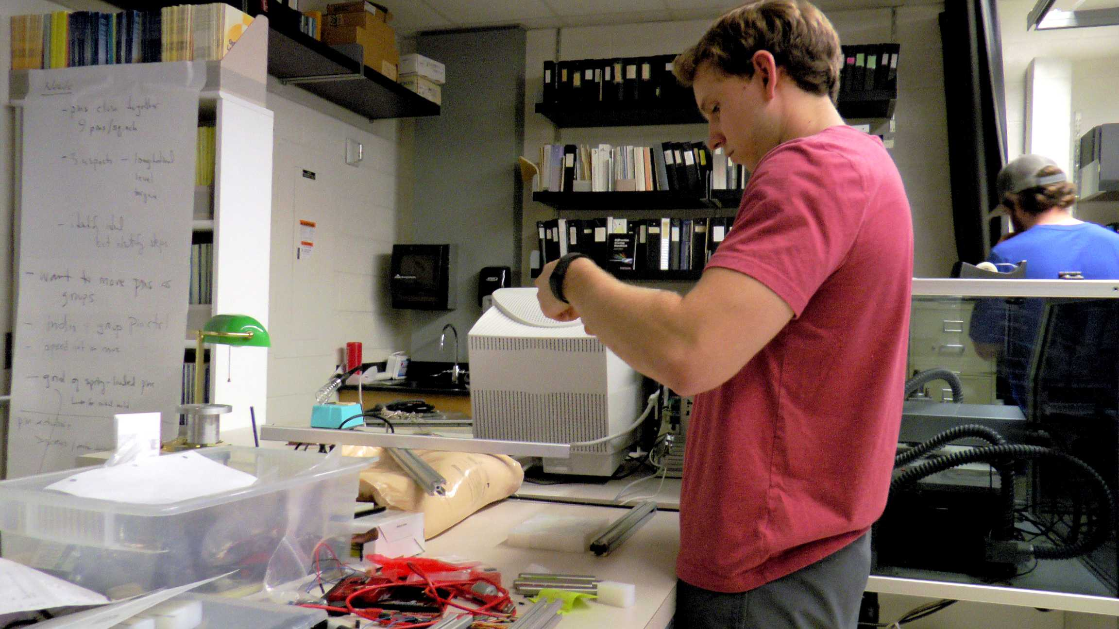 Nathan Loewen received a grant to fund a research project and will present his work at the Student Research Symposium on Friday.