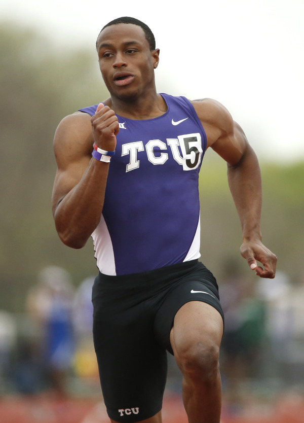 Ronnie Baker ran a 6.47 in the NCAA 60-meter Championsip, setting a world-leading time.