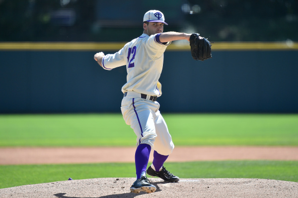 TCU starter Rex Hill gave up three runs over 4.2 innings on Sunday.