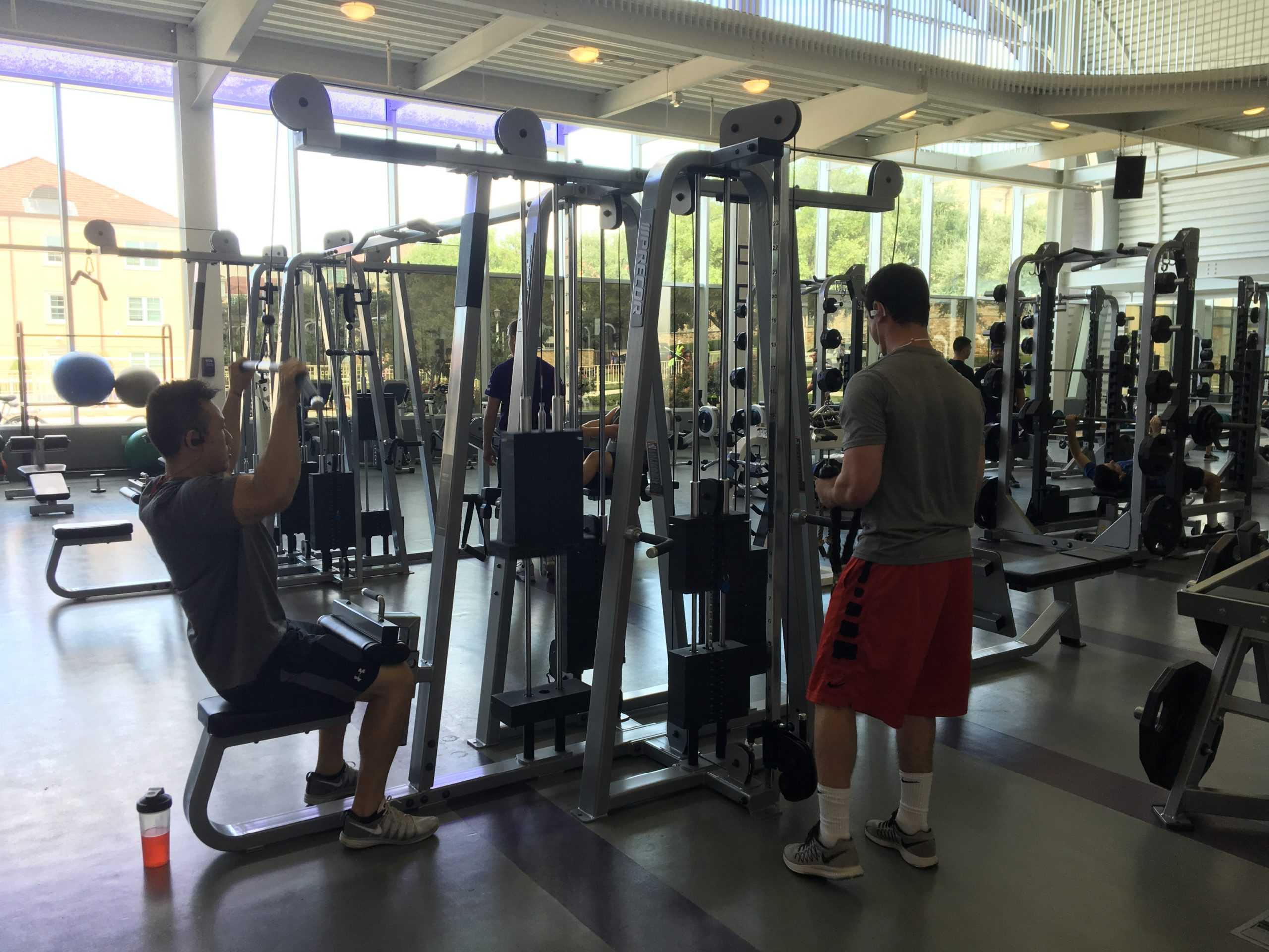 Rec makes improvements over summer tcu