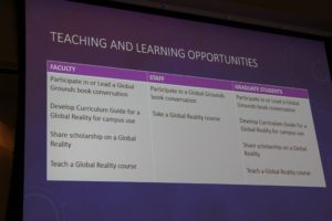 Possible opportunities for faculty, staff and graduate students.