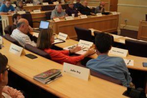 Senator Jan Quesada speaking on diversity.