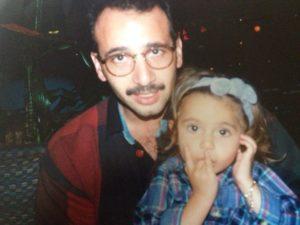 Sabrina and her father, Charlie Harb (photo courtesy of Sabrina Harb).