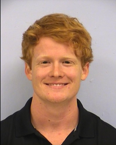 Mugshot of Tanner Graeber after he was arrested for breaking into the Texas Capitol early Sunday morning.