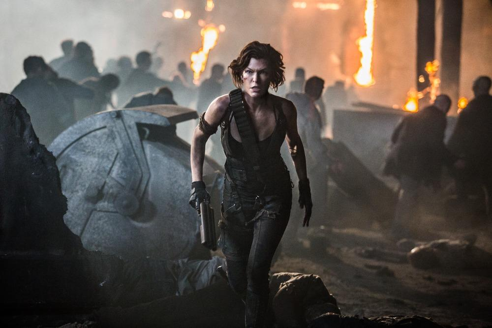 Milla Jovovich stars as Alice in Screen Gems' RESIDENT EVIL: THE FINAL CHAPTER.