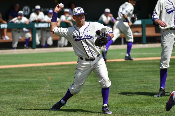 Feltman blows first career save, Frogs drop series against West Virginia