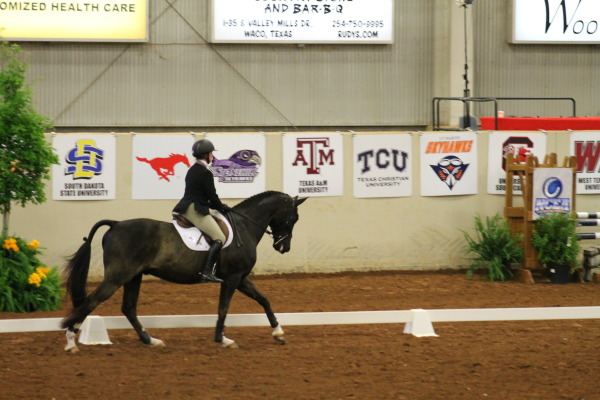 TCU Equestrian competes at the NCEA Championships in Waco, Texas on April 15, 2017. (GOFROGS.com)