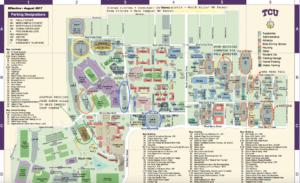 Students Struggle To Navigate Finished Lot Tcu 360