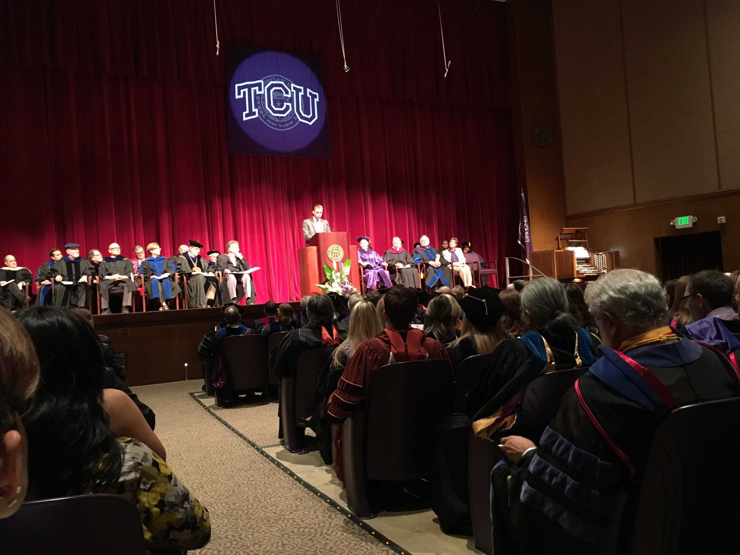 Chancellor Calls For Tcu To Help Fight The Anger At Fall Convocation 360