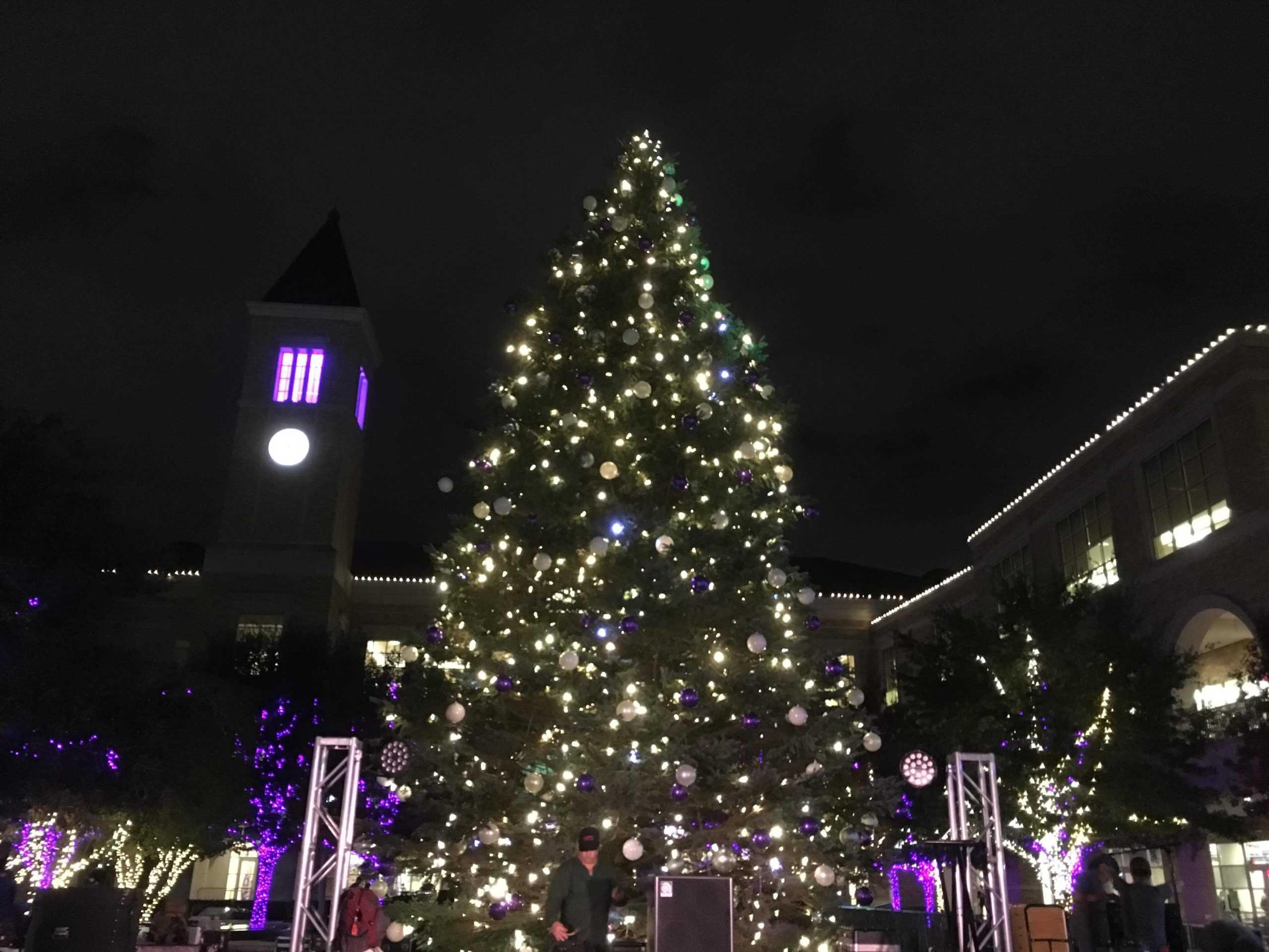 Tcu Christmas Tree Lighting 2019 Christmas tree lighting   TCU 360
