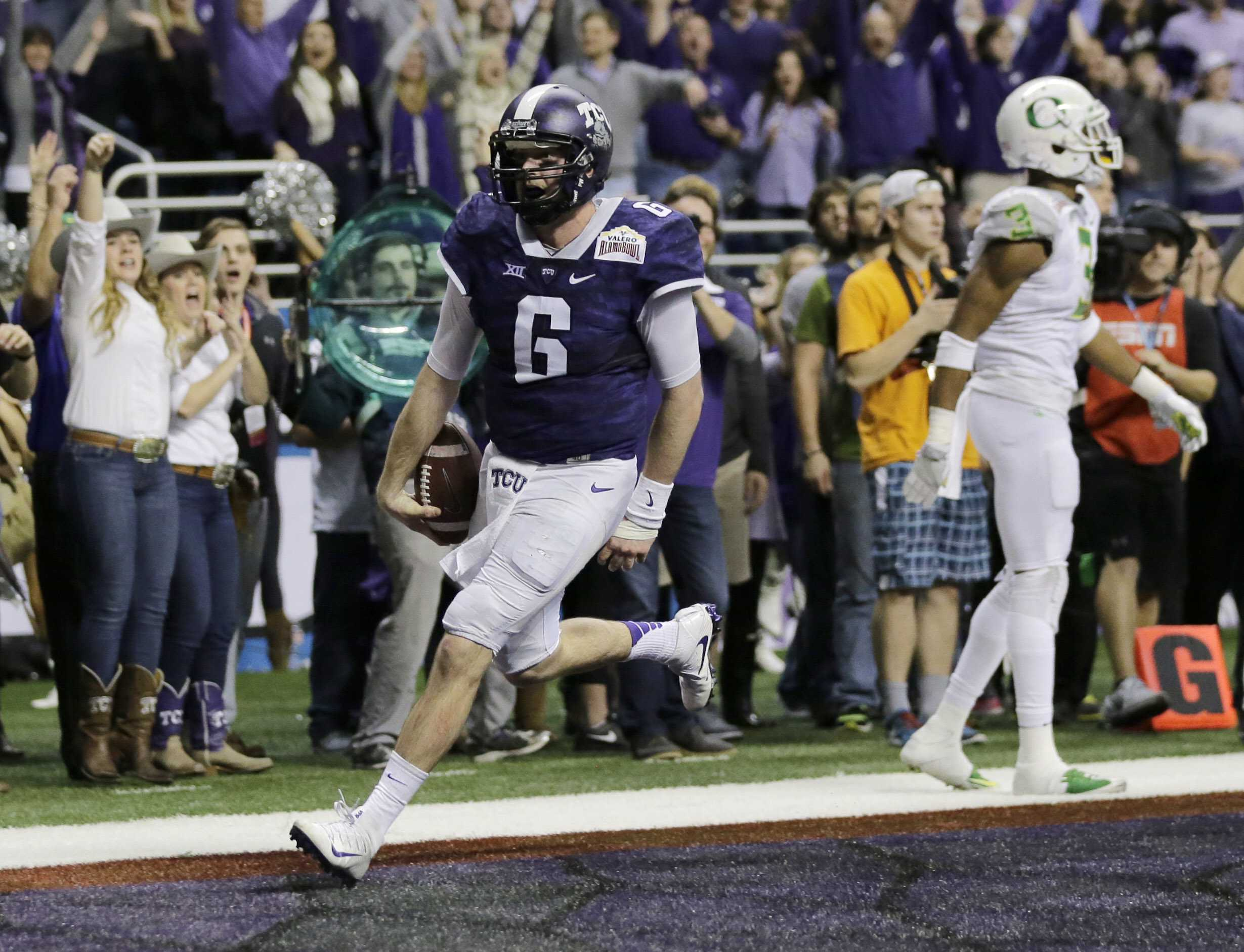 Welcome Back: TCU returns to the Alamo Bowl to face Stanford