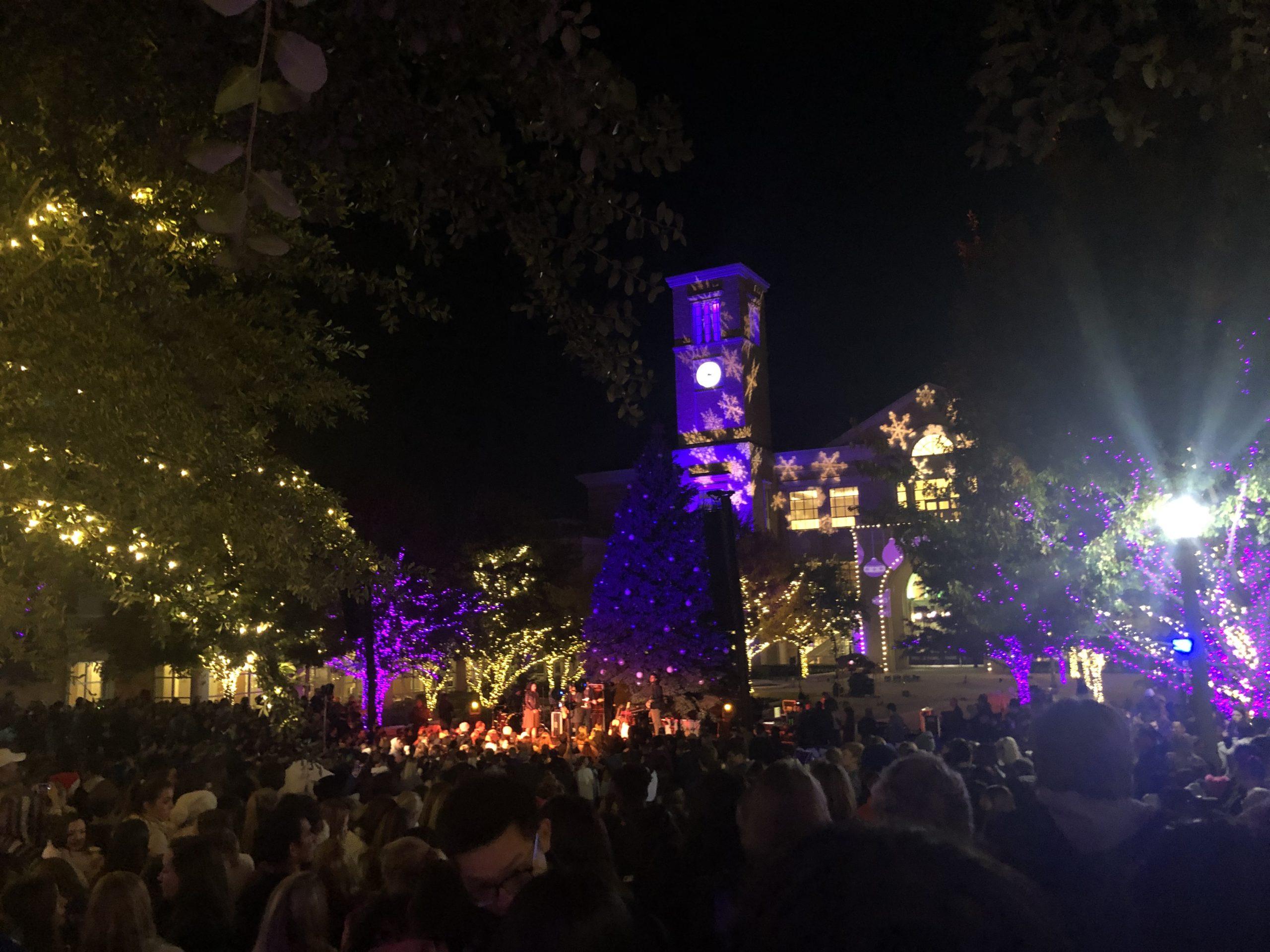 Tcu Christmas Tree Lighting 2019 TCU gets in the holiday spirit at the annual Christmas Tree