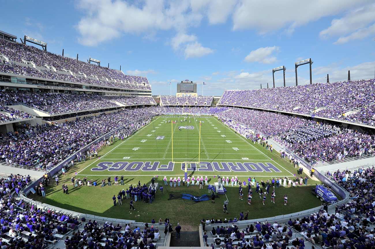 Stadium Capacity Capped Around 25 For Football Games Tcu 360